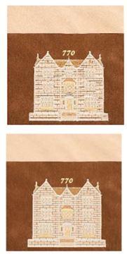 שקיות תפילין לבר מצוה - 770 דגם 770-08י