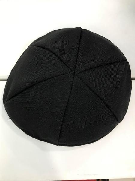 תמונה של כיפת טרלין שחורה  - 6 חלקים