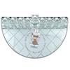 תמונה של חנוכיה מגש זכוכית + סביבון קריסטל מסתובב