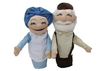 תמונה של פאפאלך - בובות תיאטרון - סבא וסבתא