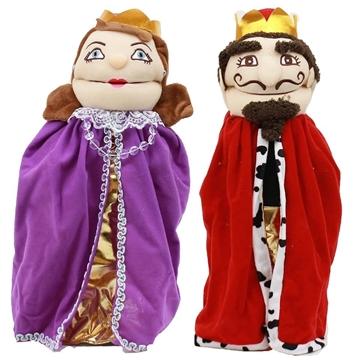 תמונה של פאפאלך - בובות תיאטרון - מלך ומלכה