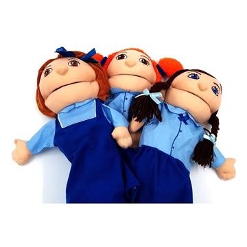 תמונה של פאפלאך - בובות תיאטרון - בנות