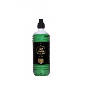 תמונה של שמן למאור - שמן צבעוני להדלקה - ירוק