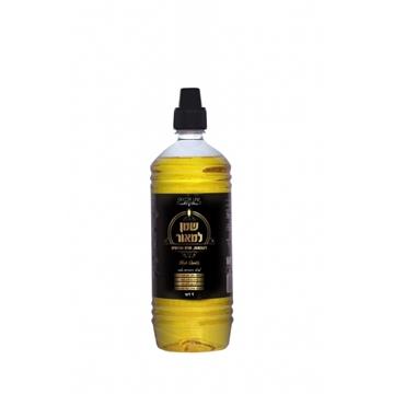 תמונה של שמן למאור - שמן צבעוני להדלקה - צהוב
