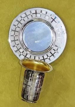 תמונה של גביע שיעור לליל הדר עם תחתית תואמת