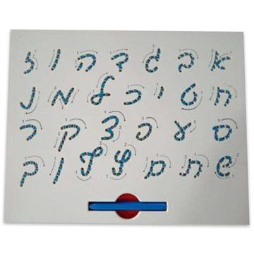 תמונה של לוח האותיות - כתיב וכתב