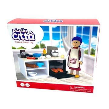 תמונה של דמויות יהודיות - אמא במטבח