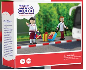 תמונה של דמויות יהודיות - ילדים יוצאים לטיול